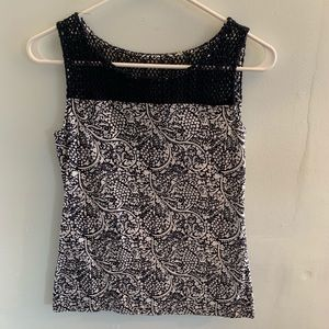 Ann Taylor Tops - •Ann Taylor• Patterned Tank Top